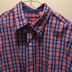 IZOD short sleeve button down.